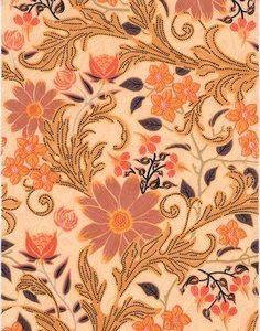 Керамическая плитка Моррис Декор AC244 8228 20х30