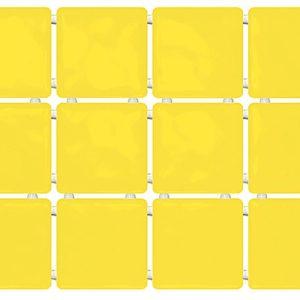 Керамическая плитка Сезоны желтый 1238 - 99х99 300х400 мм