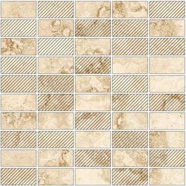 Плитка мозаика Shakespeare Light Beige(Светло-бежевый) мозаика K-4003 m07 M 307х307х9 матовый