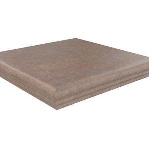 Керамическая плитка Виченца Ступень угловая универсальная коричневый SG925900N GR AN 30х30