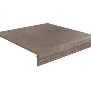 Керамическая плитка Виченца Ступень угловая универсальная коричневый темный SG926000N GR AN 30х30