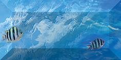 Керамическая плитка Бордюр рельефный br1020D302_228-1 20х10