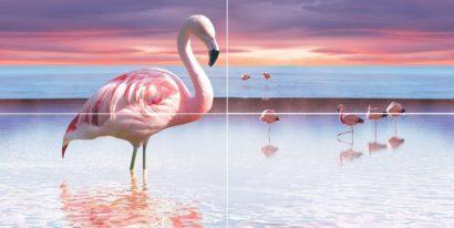 Керамическая плитка Flamingo Панно 50x100