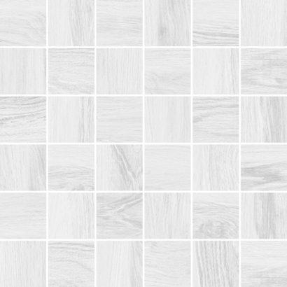 Керамическая плитка Forest Мозаика белый 30х30
