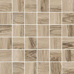 Керамическая плитка Forest Мозаика коричневый 30х30