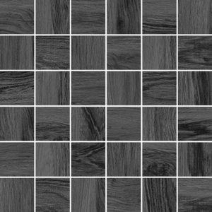 Керамическая плитка Forest Мозаика серый 30х30