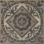 Керамическая плитка Фратте Вставка напольная серый лаппатированный HGD B29 TU0031L 15х15