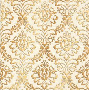 Керамическая плитка Катар декор белый 1634-0090 25х33