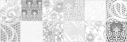 Керамическая плитка Manhattan вставка серая (MA2S091) 20x60