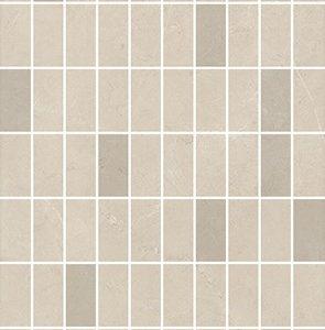 Керамическая плитка Низида Декор мозаичный беж MM12101 25х75