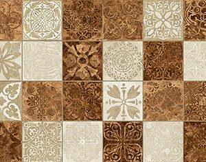 Керамическая плитка Libra Плитка настенная мозаика оранжевый 17-30-35-486 20х60