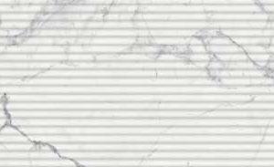 Керамическая плитка Шарм Эво Статуарио Вставка Вэйв 250х750 мм - 0