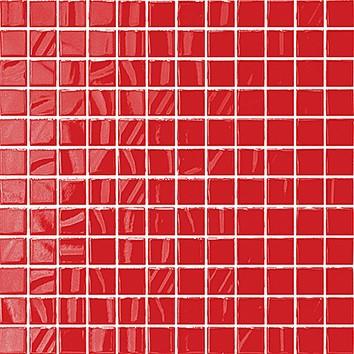 Плитка мозаика Темари красный  мозаика  20005 29