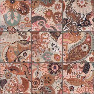 Керамическая плитка Verona Decor Print Beige плитка настенная 200х200 мм 100