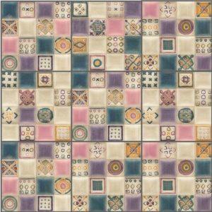 Керамическая плитка Verona Volumen Viola плитка настенная 200х200 мм 100