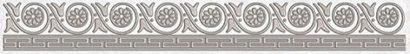Керамическая плитка Afina Бордюр серый 56-03-06-425 5х40
