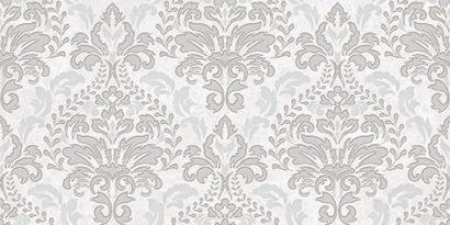 Керамическая плитка Afina Damask Декор серый 08-03-06-456 20х40
