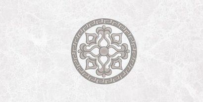 Керамическая плитка Afina Декор серый 08-03-06-425 20х40