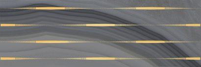 Керамическая плитка Agat Lines Декор серый 20х60