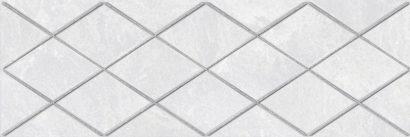 Керамическая плитка Alcor Attimo Декор белый 17-05-01-1188-0 20х60