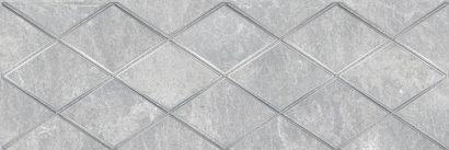 Керамическая плитка Alcor Attimo Декор серый 17-05-06-1188-0 20х60