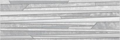 Керамическая плитка Alcor Tresor Декор серый 17-03-06-1187-0 20х60