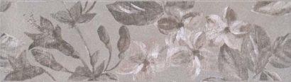 Керамическая плитка Александрия серый Бордюр 8269 5 - 200х57 мм 32