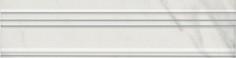 Керамическая плитка Алькала Бордюр Багет белый BLB038 5х20