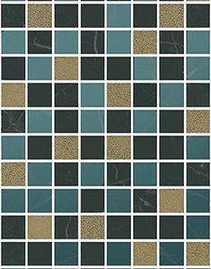Керамическая плитка Алькала Декор микс мозаичный MM7204A 20х50
