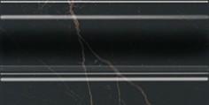Керамическая плитка Алькала Плинтус черный FMD017 10х20
