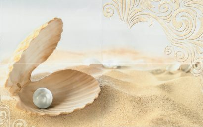 Керамическая плитка Amalfi sand 02 Панно 50x80 (панно из 4-х шт)