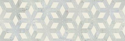 Керамическая плитка Amelie grey Декор 02 25х75