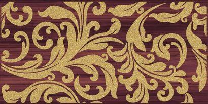 Керамическая плитка Ampir Декор бордо 25х50