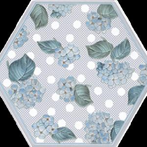 Керамическая плитка Аньет Декор HGD A300 24001 20х23