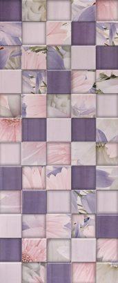 Керамическая плитка Aquarelle lilac Плитка настенная 03 25х60