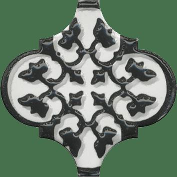 Керамическая плитка Арабески Декор глянцевый орнамент OS A26 65000 6