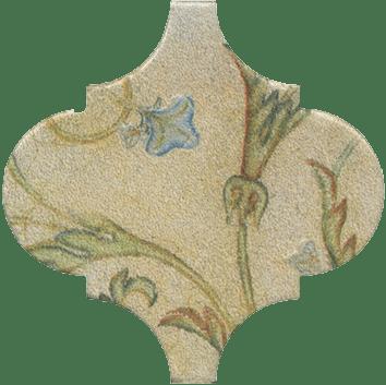 Керамическая плитка Арабески котто Декор орнамент OP A167 65000 6