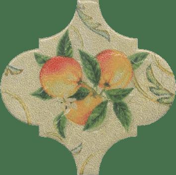 Керамическая плитка Арабески котто Декор орнамент OP A168 65000 6