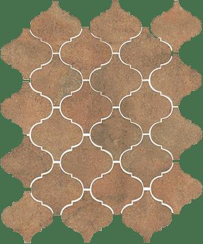 Керамическая плитка Арабески котто рыжий 65003 26х30