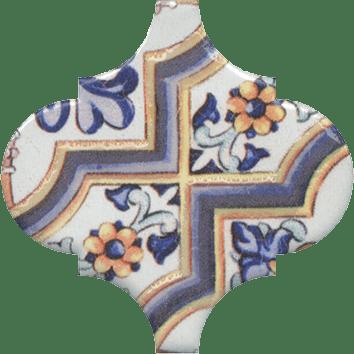 Керамическая плитка Арабески Майолика Декор орнамент OP A161 65000 6