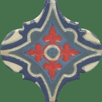 Керамическая плитка Арабески Майолика Декор орнамент OS A29 65000 6