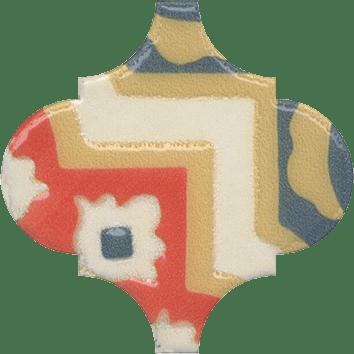 Керамическая плитка Арабески Майолика Декор орнамент OS A41 65000 6