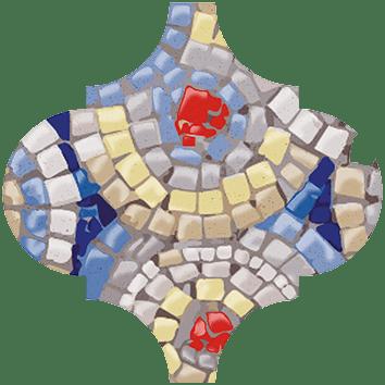 Керамическая плитка Арабески Майолика Гауди Декор OP A171 65000 6