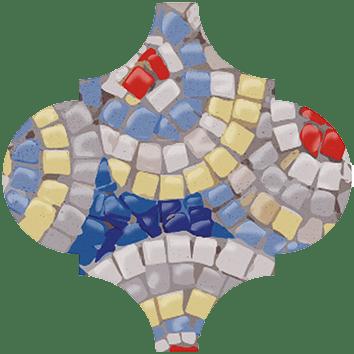 Керамическая плитка Арабески Майолика Гауди Декор OP A172 65000 6