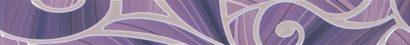 Керамическая плитка Arabeski purple 01 Бордюр 60х6