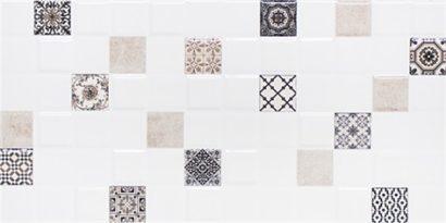 Керамическая плитка Астрид Декор 1 кофейный 1041-0235 20х40