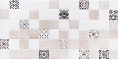 Керамическая плитка Астрид Декор 2 кофейный 1041-0236 20х40