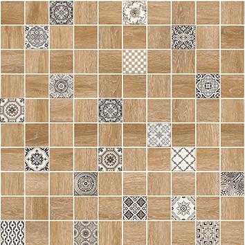 Керамическая плитка Астрид Мозаика декор натуральный 5032-0290 30х30