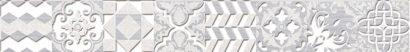Керамическая плитка Bastion Бордюр серый 46-03-06-454 4