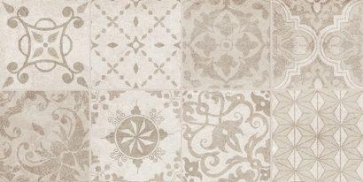 Керамическая плитка Bastion Декор с пропилами мозаика бежевый 08-03-11-453 20х40